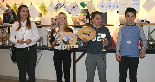 Preisschießen - Sieger beim Schießen für Schüler
